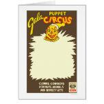 Puppet Cowboy Circus 1938 WPA