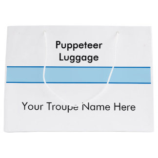 Puppet Luggage - Large Gift Bag