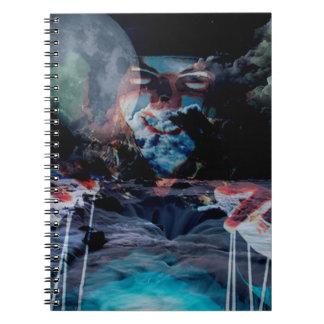 PUPPET MAESTRO.jpg Spiral Notebook