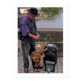 Puppet Master Postcard
