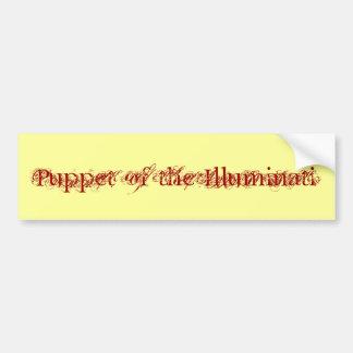 """Puppet of the Illuminati"" Bumper Sticker Car Bumper Sticker"