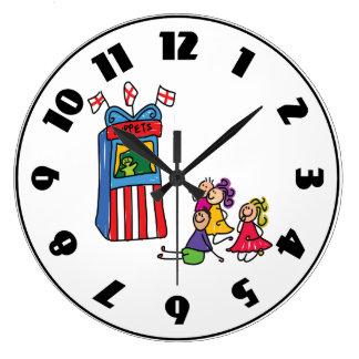 Puppet Show Clock