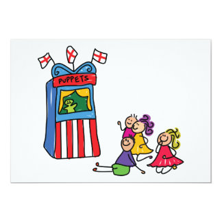 Puppet Show Invitations