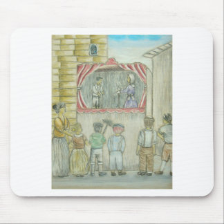 puppet show mouse pad
