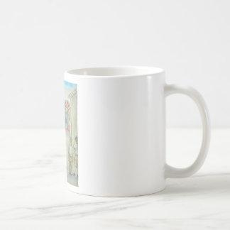 puppet show classic white coffee mug