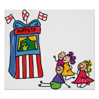 Puppet Show Poster