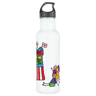 Puppet Show Stainless Steel Water Bottle
