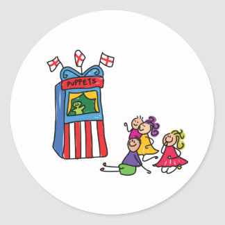Puppet Show Stickers