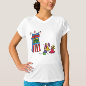 Puppet Show Womens Active Tee