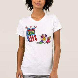 Puppet Show Womens T-Shirt