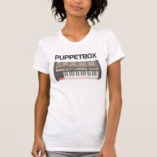 Puppetbox Keyboard Logo (ladies) T-Shirt