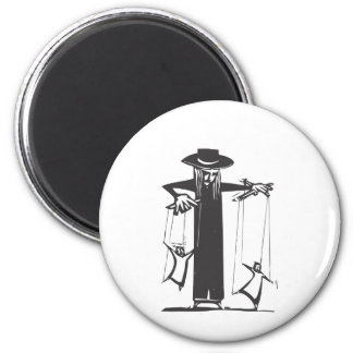 Puppeteer 2 Inch Round Magnet