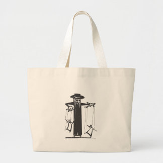 Puppeteer Large Tote Bag