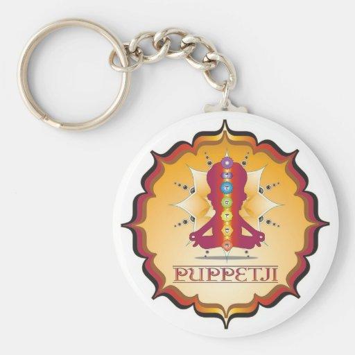 Puppetji Key Locator Key Chain