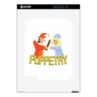 Puppetry iPad 2 Skins