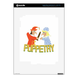 Puppetry iPad 3 Decal