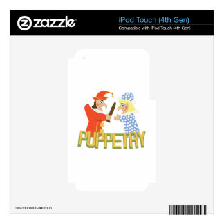 Puppetry iPod Touch 4G Decals