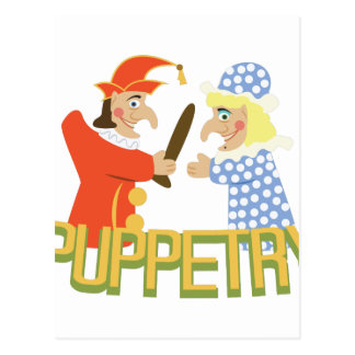 Puppetry Postcard