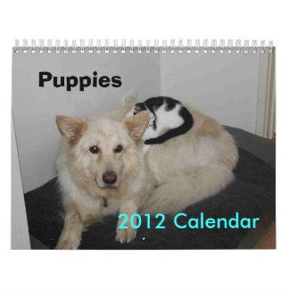 Puppies 2012 Calendar