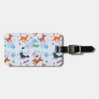 Puppies and Kittens Bag Tag
