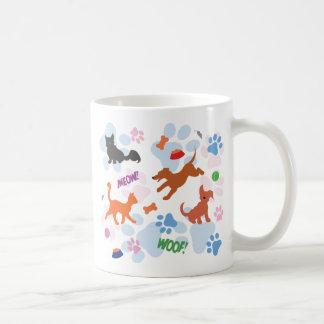Puppies and Kittens Coffee Mug