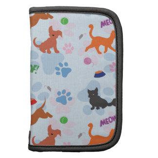 Puppies and Kittens Folio Planner