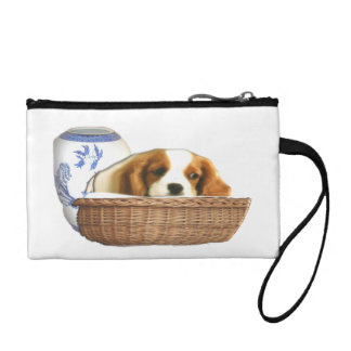 Puppies art products coin purse