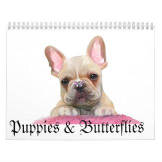 Puppies & Butterflies Calendar