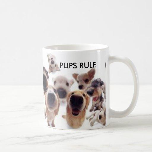 PUPPIES/DOGS TAZA DE CAFÉ