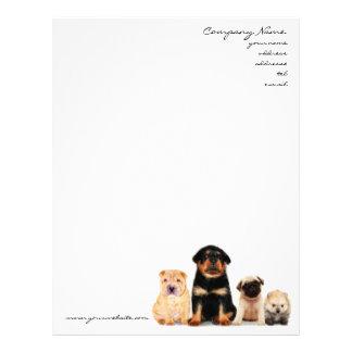 Puppies Letterhead