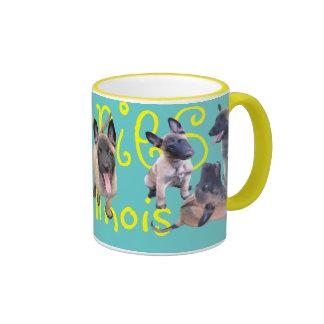 puppies malinense taza a dos colores