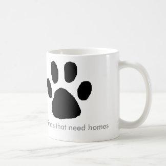 Puppies need Homes Classic White Coffee Mug