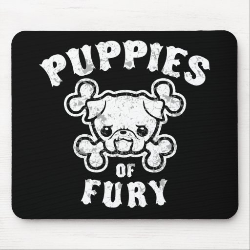 Puppies of Fury Mousepad
