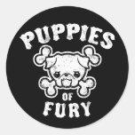 Puppies of Fury Sticker