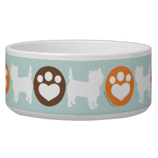 Puppies Paws Rum Chocolate Bowl