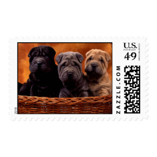 puppies postage stamps