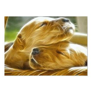 Puppies Sleeping Card
