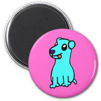 Puppy 2 Inch Round Magnet
