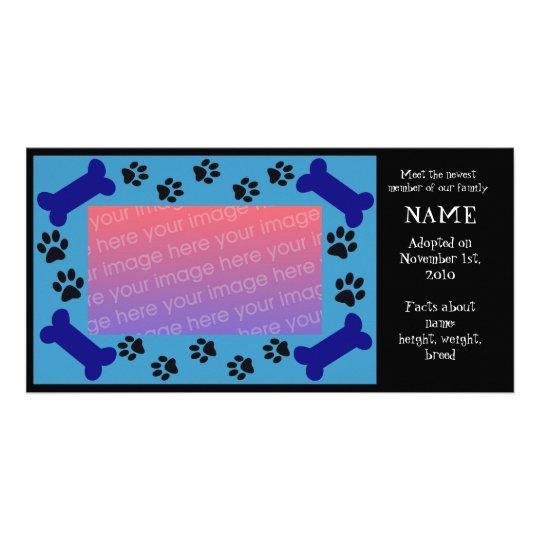Puppy Adoption Card