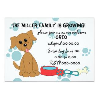 Puppy Adoption Celebration! Card