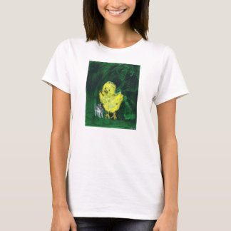 Puppy and Fuzzy Chick T-Shirt