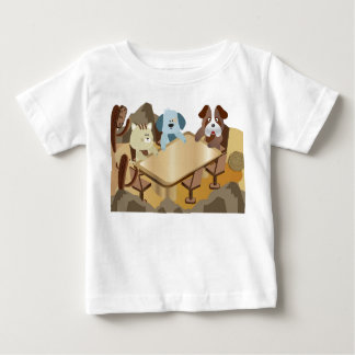 Puppy and kitten party infant t-shirt