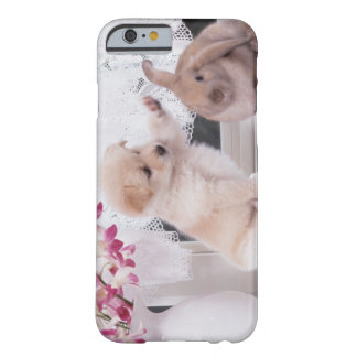 Puppy and Lop Ear Rabbit Barely There iPhone 6 Case