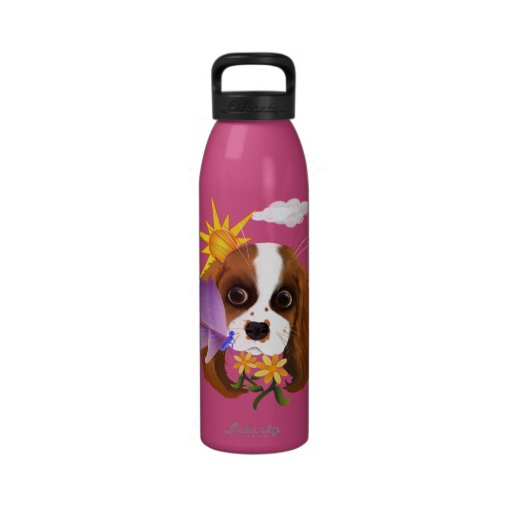 Puppy and Nature Drinking Bottles