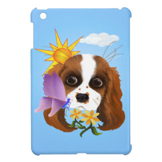 Puppy and Nature iPad Mini Cases