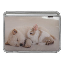 Puppy and Rabbit MacBook Air Sleeve