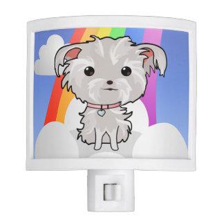 Puppy and Rainbow Night Light