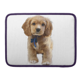 Puppy art sleeves for MacBooks