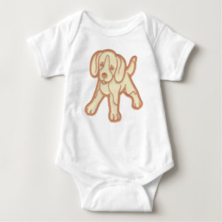 Puppy Baby Bodysuit