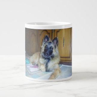 puppy Belgian_Tervueren.png Giant Coffee Mug